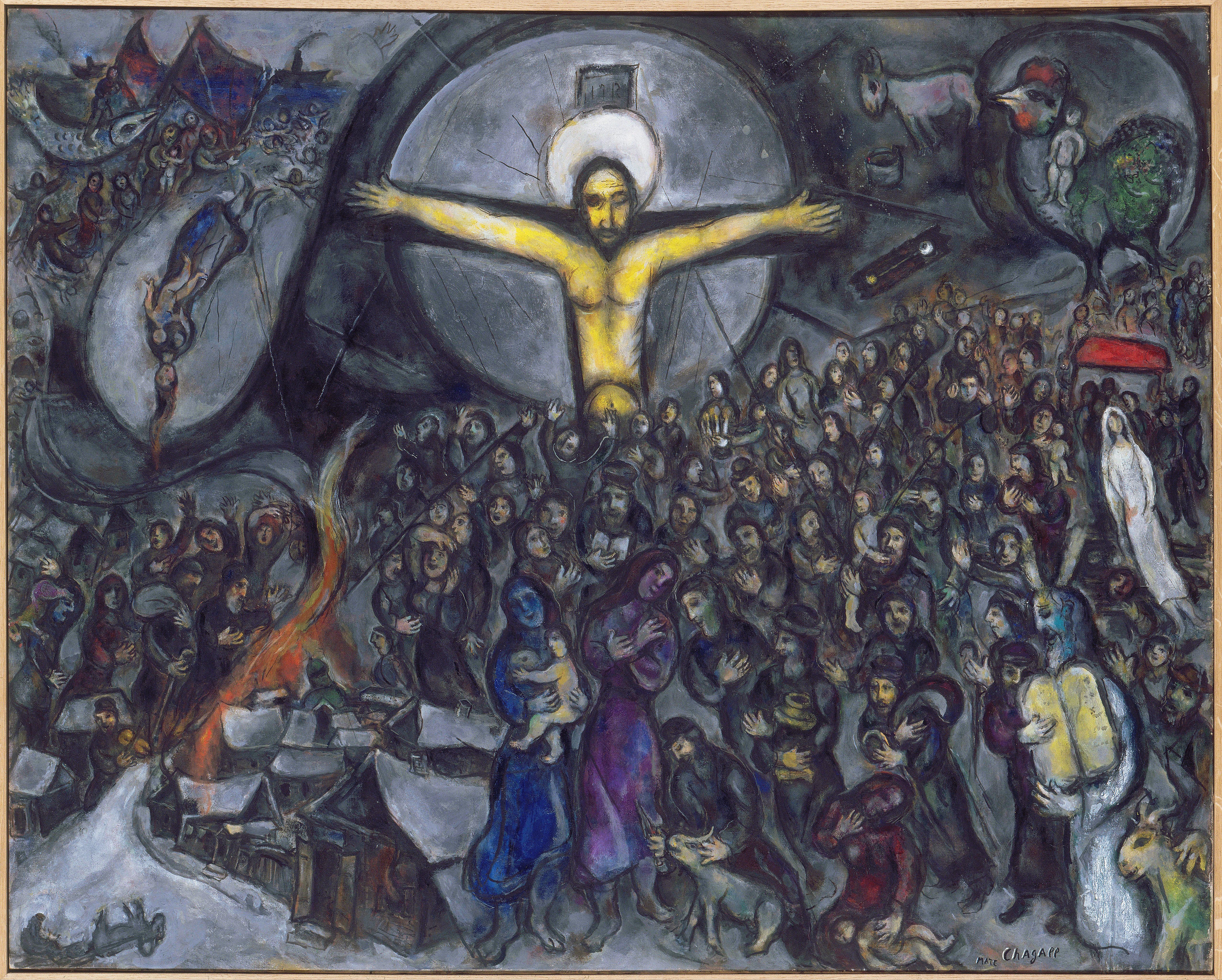 The Jewish Museum In New York Is Presenting Chagall Love War And Exile Through February 2 2014 Exhibition Focuses On Art Of Marc