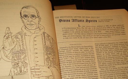 PiusXII-BiblicalStudies